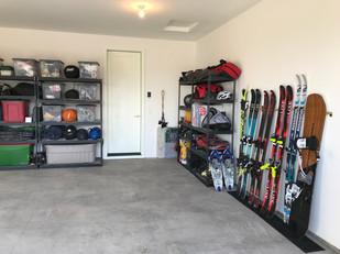 Garage After with Gear Storage