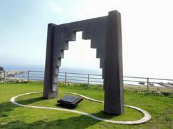 青木繁と「海の幸」の記念碑