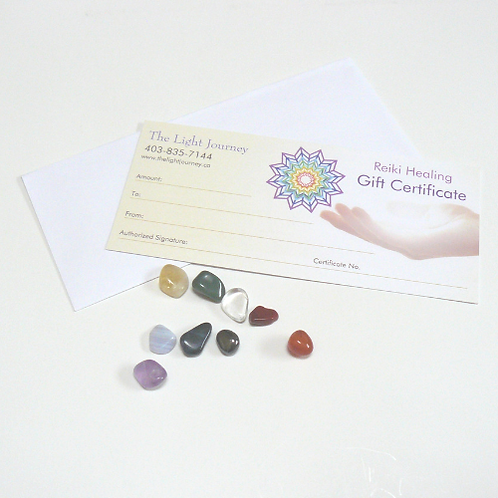 The Light Journey Gift Certificate
