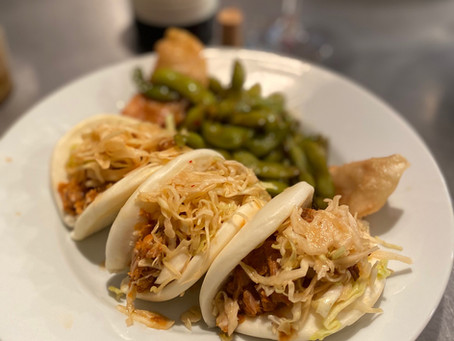 Bao Buns & our Pan-Asian take on Korean Kim Chi BBQ sauce