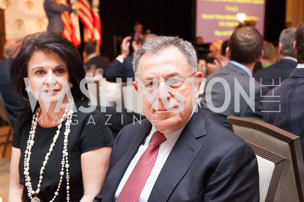 Huda Siniora, H.E. Fouad Sinora (Former Prime Minister of Lebanon)-4.12.2016 ATFL Gala 2016-4300-XL