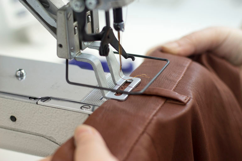 Sewing The Leather Pants