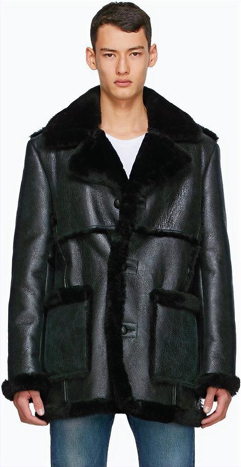 Men's Shearling Coat