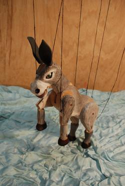 Marioneta de burro