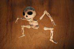Marioneta de esqueleto