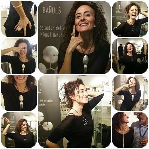 Bañuls con Laura García