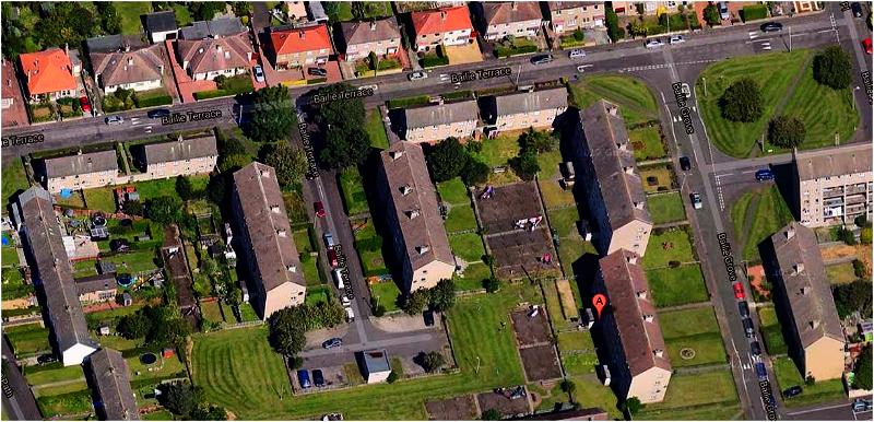 Bailie Grove street map