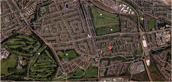 Magdalene area map