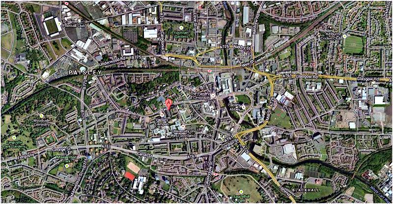 Townhead Terrace area map