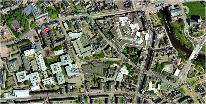 Townhead Terrace map
