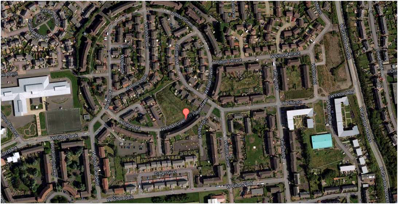 West Pilton Green street map