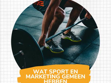 Wat sport en marketing gemeen hebben