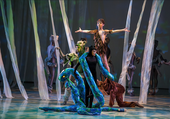 A modern ballet by the International Ballet Theatre, The Eastside's Premiere Ballet Company