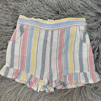 Ruffle Stripe shorts