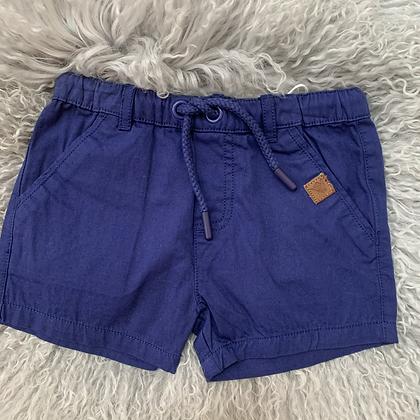Navy Pull on shorts
