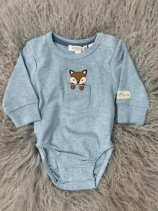 Purebaby Fox Bodysuit