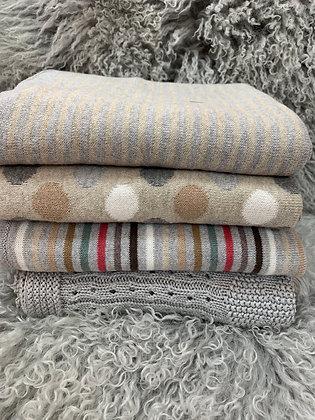 Dlux 100% cotton baby blankets