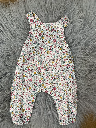 Purebaby Floral Overall