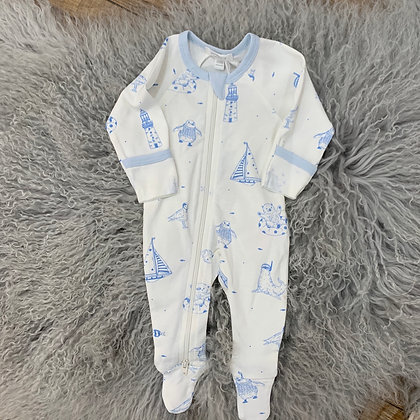 Purebaby Summer holiday Growsuit