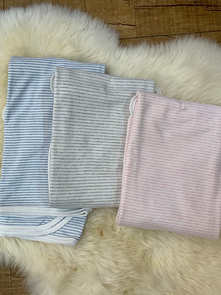 Purebaby Jersey Stripe Wrap