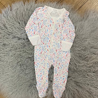 Purebaby Winter Blooms Growsuit