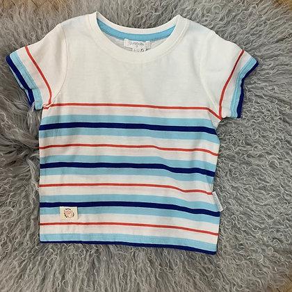 Sunday stripe T shirt