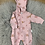 Thumbnail: Purebaby Quilted Growsuit
