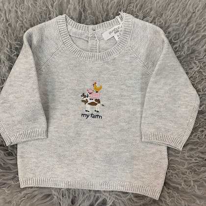 Purebaby little farm jumper