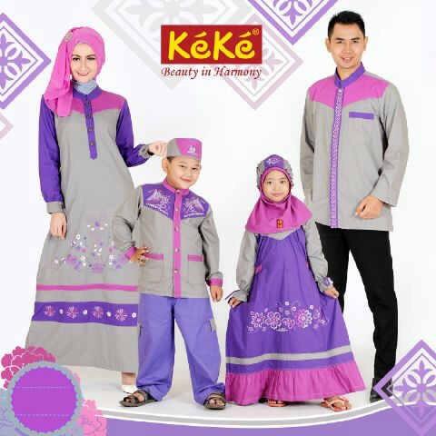 Koleksi Terbaru Baju Muslim Anak KeKe