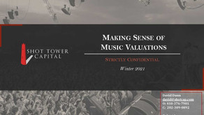 Outlook on Music Valuations