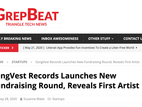 SongVest Records Launches New Fundraising Round, Reveals First Artist - Grep Beat