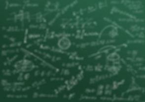 Math physics formulas and symbol on gree