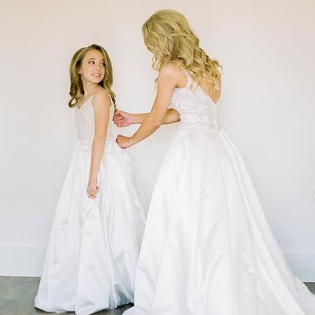 Cassie: Custom mini replica gown