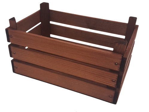Wooden Slatted Crate