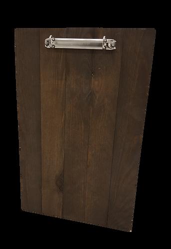 Lancaster Wooden Menu Clip Board - A5 / A4