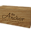 Thumbnail: Ash Block Wooden Menu Holder