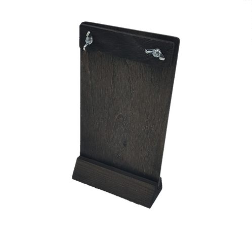 Ruskin Wooden Menu Holder Stand