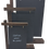 Thumbnail: Wooden Chalk Board Gantry - A5 / A4 / A3