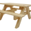 Thumbnail: Mini Wooden Picnic Bench Cake / Afternoon Tea Stand