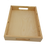 Thumbnail: Wooden Tea Serving Butler Trays