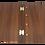 Thumbnail: York A5 / A4 Wooden Menu Cover