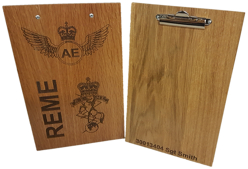 Personalised Clipboard (hardwood veneer)