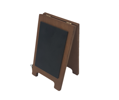 Miniature Chalk Sign Table Top A Frame