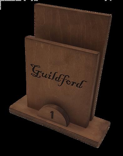 Guildford Wooden Menu Holder