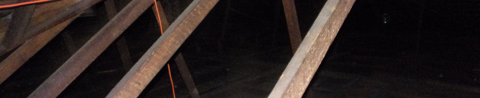 In a n attic