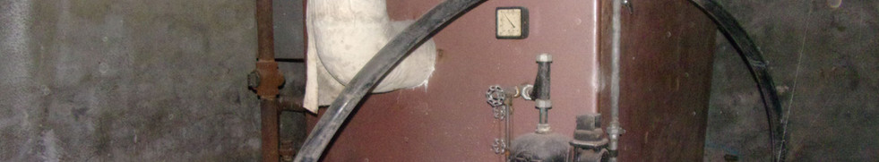 Old Furnace in basement
