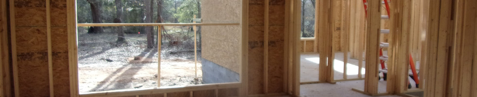 New home being built. Phase inspection