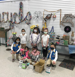 Girl Scouts donation