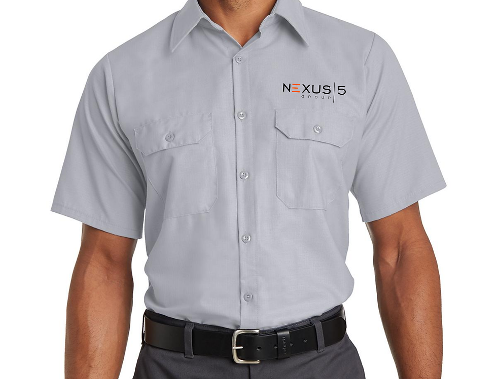 Red Kap® Short Sleeve Ripstop Shirt