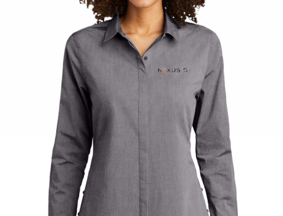 OGIO® Ladies Commuter Woven Tunic
